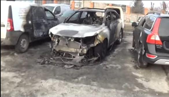 Журналісту видання «Город Никополь» спалили авто. Поліція відкрила провадження