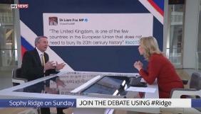 Політик заперечив, що написав спірний твіт, хоча журналісти показали в ефірі скріншот