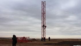 Чонгарську телевежу, яку відкрили сьогодні, планують збільшити до 200 метрів