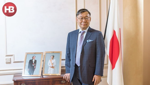 Україна не надає світу достатньо реальної інформації про себе – посол Японії