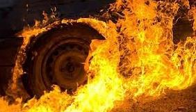 У Криму спалили авто євпаторійського журналіста