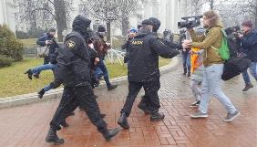 У Білорусі у День Волі тривають масові затримання журналістів