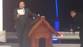 Міхеїл Саакашвілі вестиме на ZIK програму «Інша Україна» виробництва продакшну «Укрмедіапростір» (ФОТО)