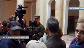 В Одесі журналістів не пускали у будівлю міськради