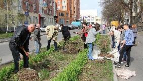 У Полтаві медійники організували весняну толоку