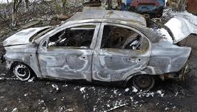 На Вінничині журналісту-розслідувачу Віктору Рисю спалили автомобіль
