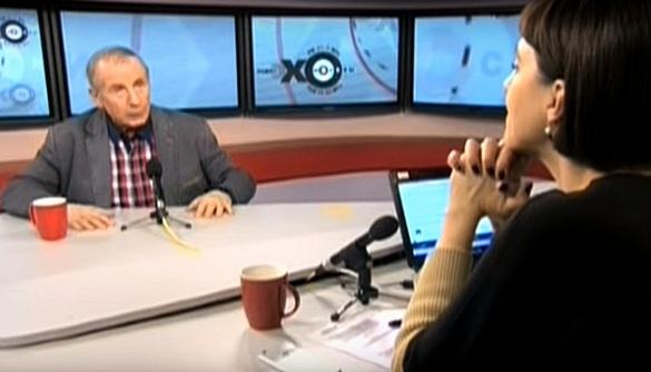 Скандал в эфире «Эха Москвы»: Михаил Веллер назвал ведущую «тупой скотиной» и облил водой