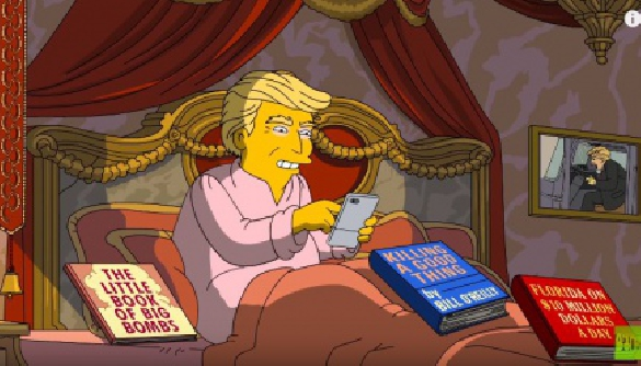 «Симпсоны» высмеяли президента Трампа (ВИДЕО)