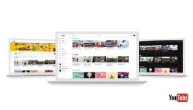 YouTube тестує новий інтерфейс зі спрощеним меню та чорним дизайном