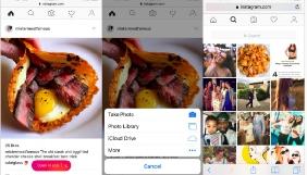 Instagram дозволила публікувати фото прямісінько з браузера