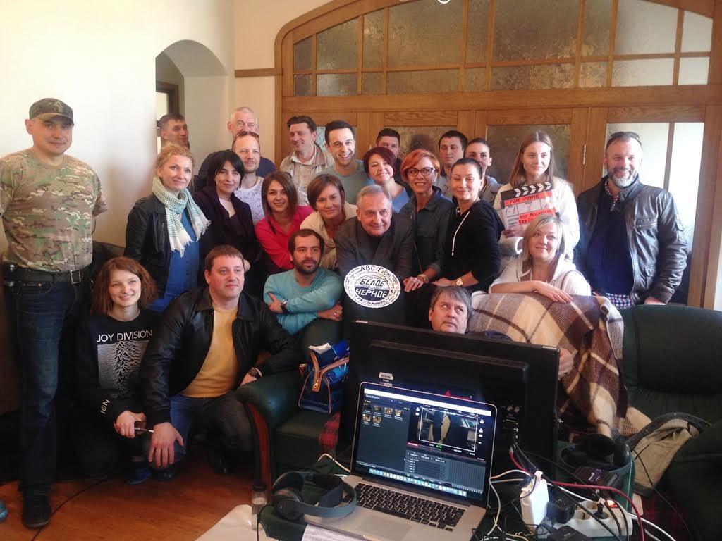 Канал «Україна» знімає кримінальну мелодраму «Біле-чорне» (ДОПОВНЕНО)