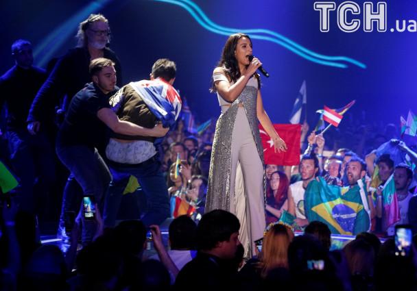 Оргкомітет «Євробачення-2017» назвав голий зад Седюка форс-мажорним випадком