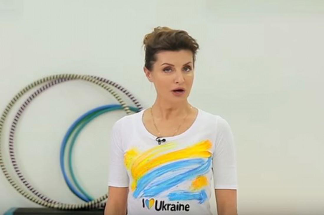 Как Марина Порошенко заботится о здоровье нации