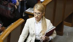 Юлія Тимошенко скаржиться, що їй закрили доступ до прямих ефірів на ТБ (ДОПОВНЕНО)