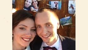 Нова медійна сім'я: Максим Наливайко та Галина Каплан одружилися