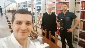 Акім Галімов та команда проекту «Україна. Повернення своєї історії» потрапили у секретний архів Ватикану