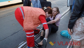 У Вінниці автомобіль збив журналістку медіацентру «Власно»