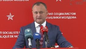 Президент Молдови намагається заблокувати закон проти російської пропаганди