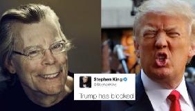 Дональд Трамп заблокував Стівена Кінга в Twitter - Джоан Роулінг пообіцяла пересилати колезі усі твіти