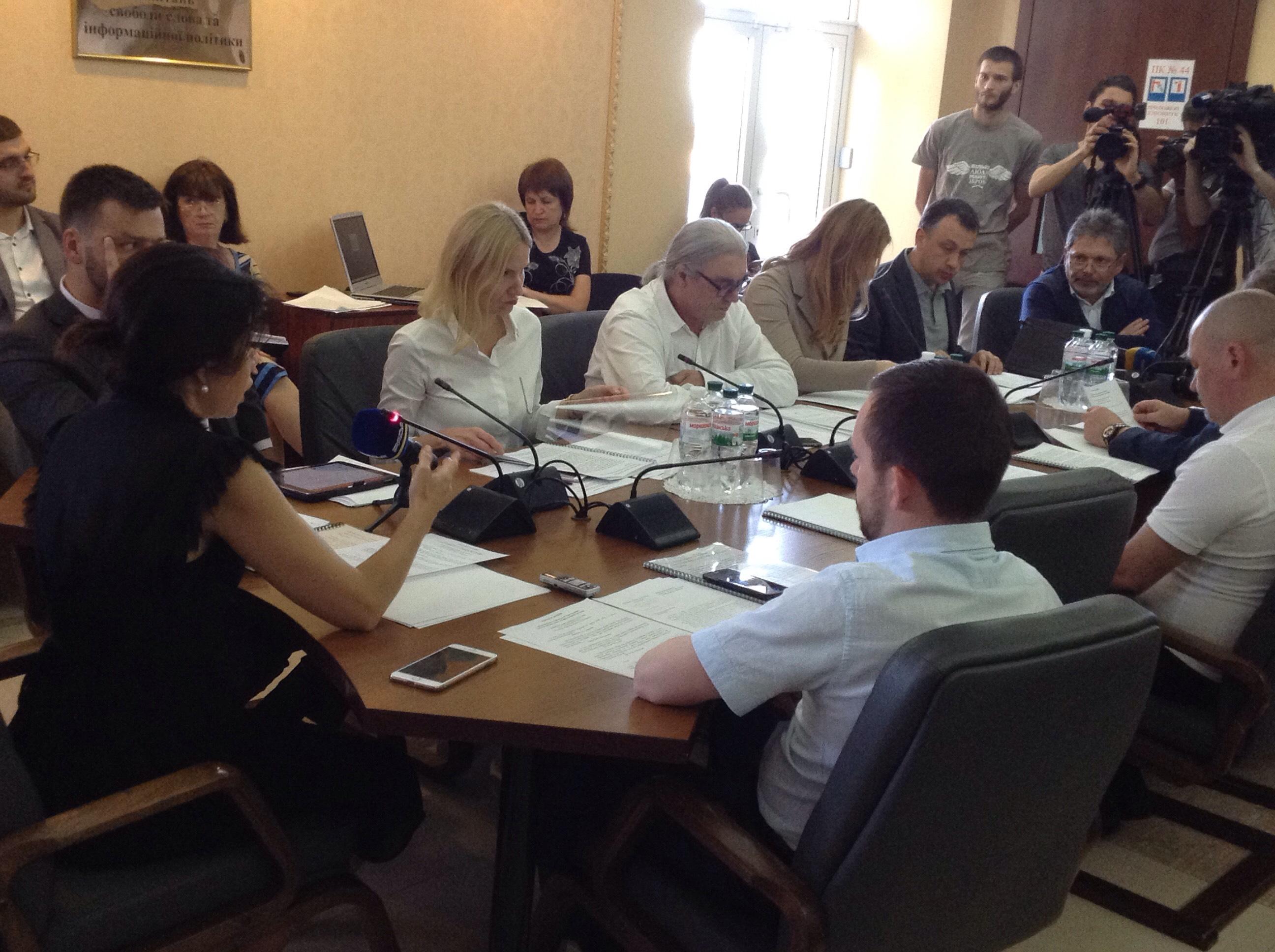Комітет свободи слова схвалив Комунікаційну стратегію парламенту на 2017-2021 роки