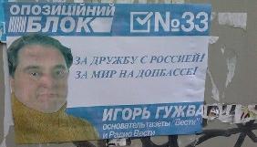 Прокуратура пропонує для Гужви утримання під вартою з можливістю застави 3 млн.гривень