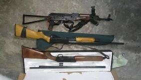 Нацполіція знайшла у фігуранта справи про вбивство журналіста Сергієнка арсенал зброї