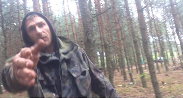 Поліція розслідує напад бурштинокопача на журналістів «Четвертої влади»