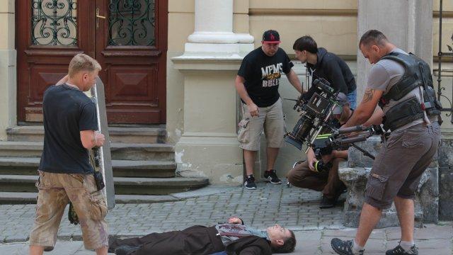 В Україні завершено зйомки пригодницького фільму «Екс» про революціонерів Галичини