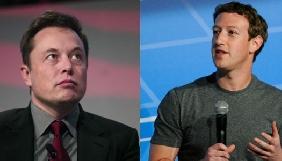 Ілон Маск та Марк Цукерберг посперечалися через штучний інтелект