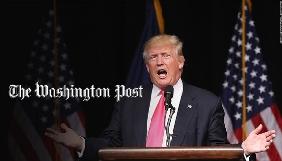 Дональд Трамп звинуватив The Washington Post у брехні та поширенні фейків