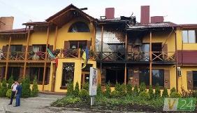 Медіавласник з Луцька заявляє, що його залякують, підпаливши його готельно-ресторанний комплекс