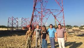 Будівництво телевежі на Луганщині відвідали представники Мінінформу, НСТУ, Ради і керівництва області (ФОТО)