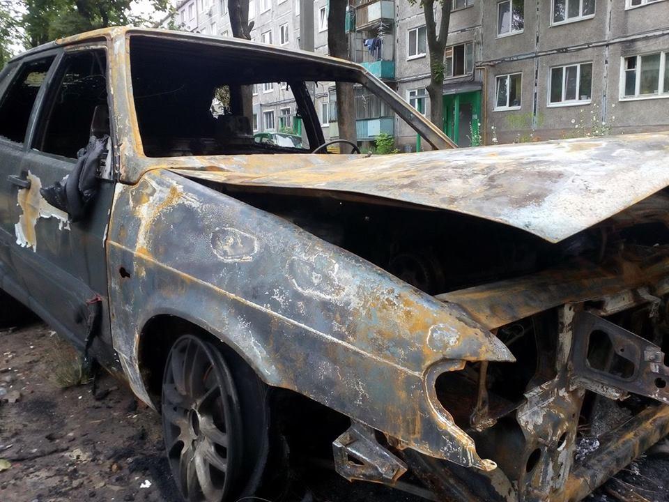 Харківська поліція відкрила провадження за фактом підпалу авто журналіста Ігоря Русіна