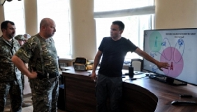 На Донбасі РНБО випробувала систему глушіння російських та сепаратистських ЗМІ