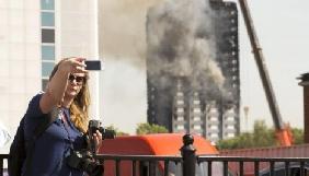 Британська поліція встановила огорожу навколо Grenfell Tower через любителів селфі