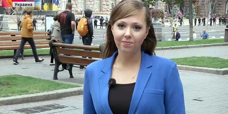 Stopfake виявив в сюжетах видвореної з України російської журналістки дезінформацію і розпалювання ненависті