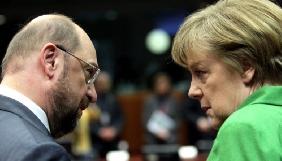 Чотири німецькі телеканали транслюватимуть передвиборчі теледебати Меркель-Шульц