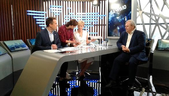 Марина Леончук розповіла про свою роботу на Прямому каналі