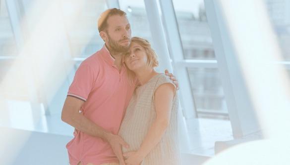 Костянтин Томільченко вперше показав світлини вагітної дружини