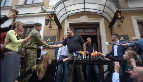 Саакашвілі поскаржився, що його «замучили» журналісти