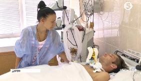 У Кривому Розі зібрали 13 тис. грн на лікування пораненого В'ячеслава Волка