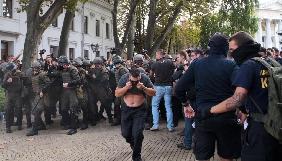 Під час сутичок в Одесі постраждав журналіст «Громадського ТБ» Дмитро Реплянчук