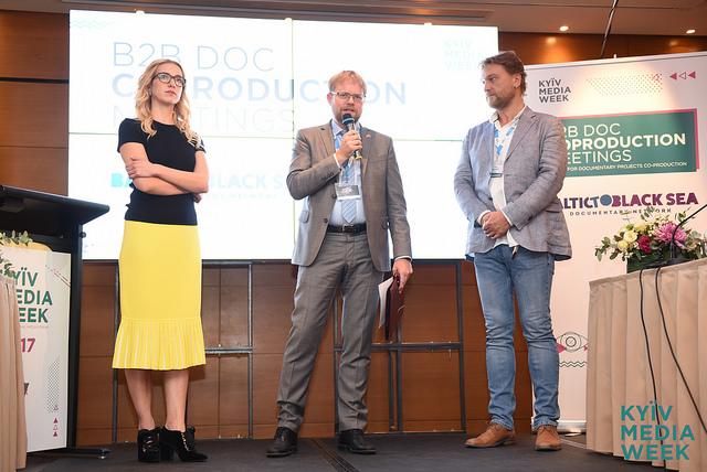 У пошуках копродукції. Пітчинг документальних проектів на Kyiv Media Week