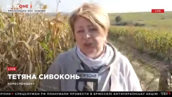 Журналістка NewsOne у прямому ефірі повідомила про перешкоджання з боку військових та звернулась до ГПУ