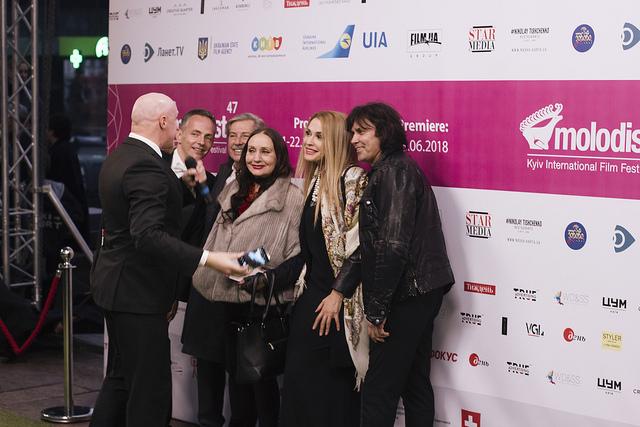 «Молодість. Пролог». У Києві урочисто відкрили спеціальну подію – тизер до травневого кінофестивалю (ФОТО)