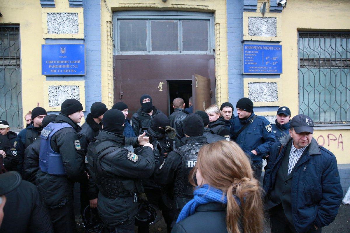 Поліція не пускає журналістів до Святошинського суду – УНІАН