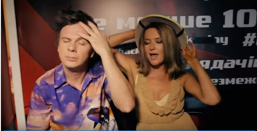 Наталья Могилевская сняла клип за кулисами «Танців з зірками» (ВИДЕО)