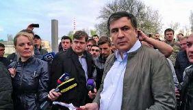 Українських і грузинських журналістів та американських режисерів оштрафували за прорив кордону разом із Саакашвілі