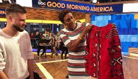 Легендарна ведуча Good morning America пообіцяла вийти в ефір в українській вишиванці