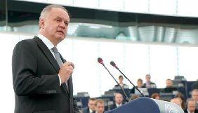 ЄС повинен активніше боротися з російською пропагандою – президент Словаччини